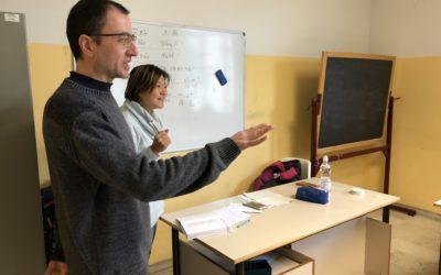 育才语言学校与Campi Bisenzio学区教师的中意文化教育交流活动